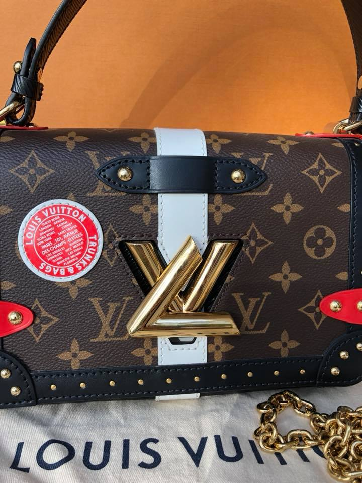 5c785c61f99e Louis Vuitton Limited Edition Trunks Twist Crossbody Bag - Meme s ...