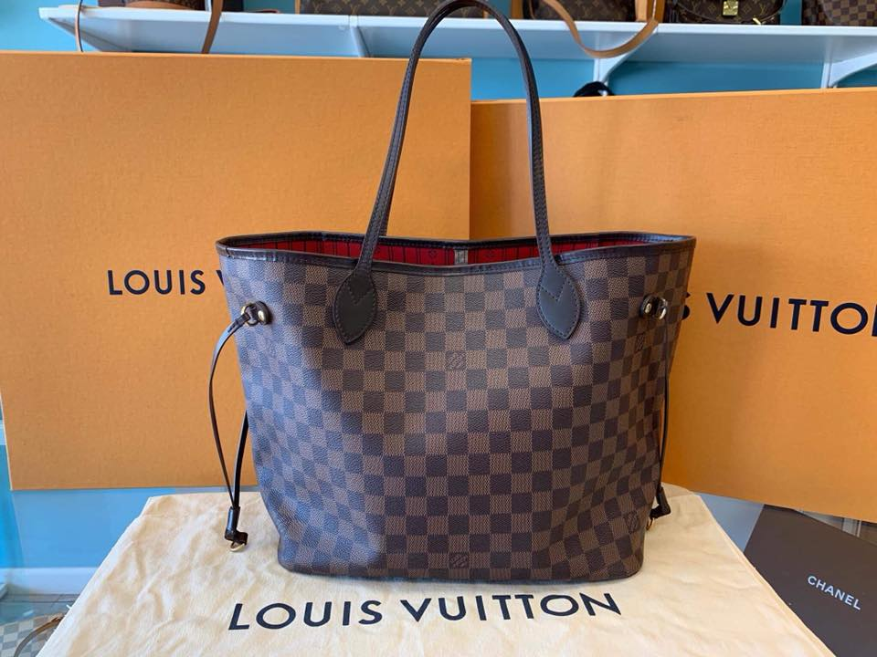 80389f1ff859 Louis Vuitton Damier Ebene Neverfull MM. Return to Previous Page. lightbox